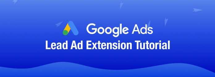 Google Lead Form Extension Ad